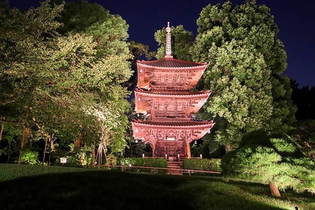 Entsūkaku pagoda (National Tangible Cultural Asset)