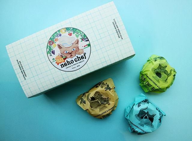 Cheese Fruit burger(チーズフルーツバーガー)  3入1296日圓