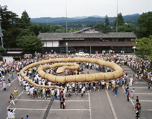 Echigo Sekikawa Great Serpent Festival
