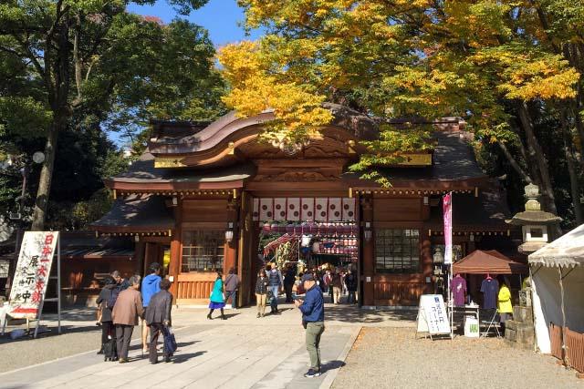 Tori no Ichi during daytime