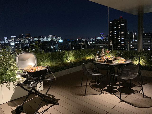 「THE GATE」房型~有可以進行BBQ等活動的寬廣露天陽台