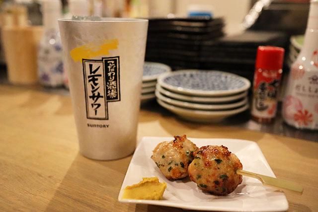 쿠시야키츠쿠네- 에비니라츠쿠네(개당 150엔)