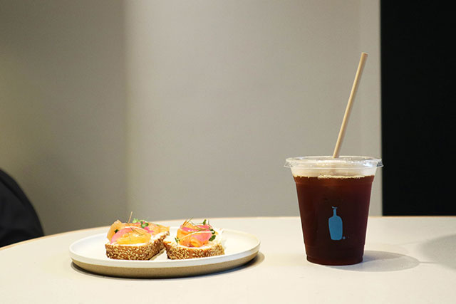 Blue bottle coffee 히로오점