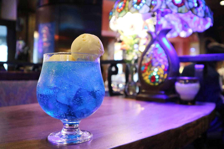 Retro Vibe Cafe in Tokyo with Japanese Cream Soda