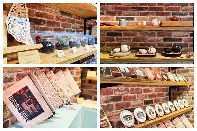 店內有還有販賣眾多台灣小物、茶葉!(※茶具無提供販賣)