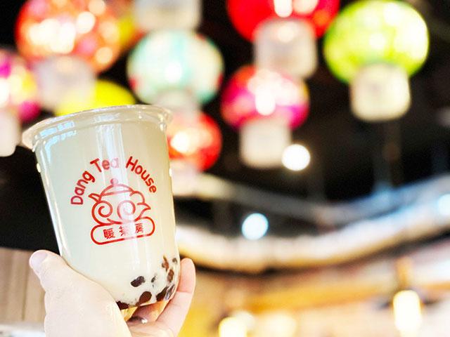 珍珠凍頂烏龍茶奶茶(凍頂烏龍茶タピオカミルクティー) 550日圓(含稅)※目前特價中的價格