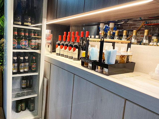 除了台灣茶之外也有各種酒類菜單