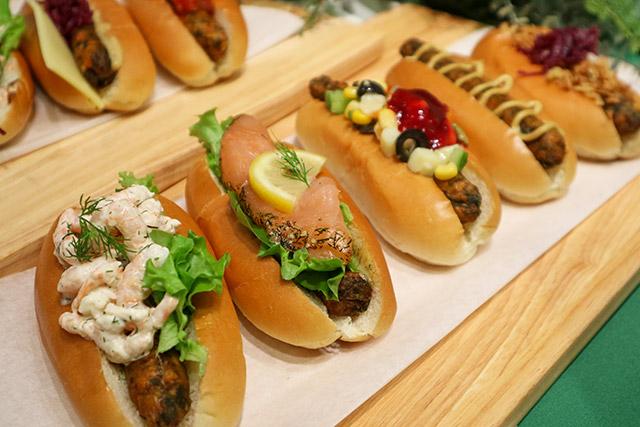 Veggie dogs offered at IKEA Shibuya