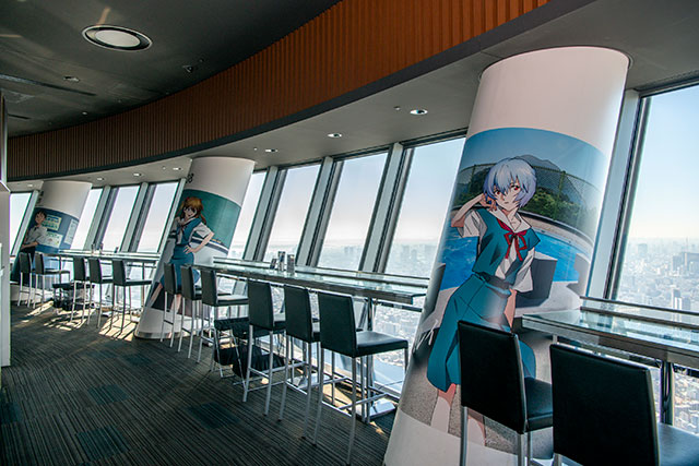 SKYTREE CAFE / (C)カラー (C)TOKYO-SKYTREE