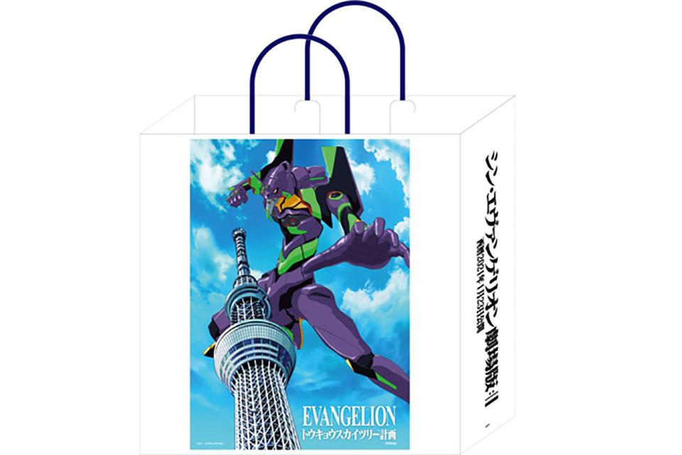 消費額滿3,000日圓以上就送原創手提袋 / オリジナルショッパー(イメージ) (C)カラー (C)TOKYO-SKYTREE