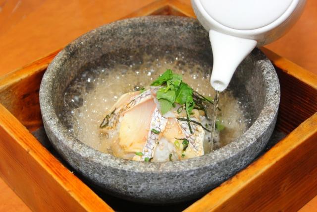 일본식 정통 시메, 오차즈케