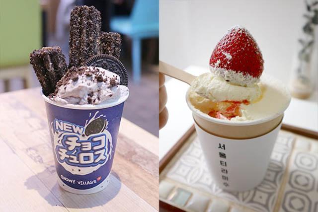「巧克力吉拿棒口味」480日圓(含稅)/ 「草莓口味」680日圓(含稅)