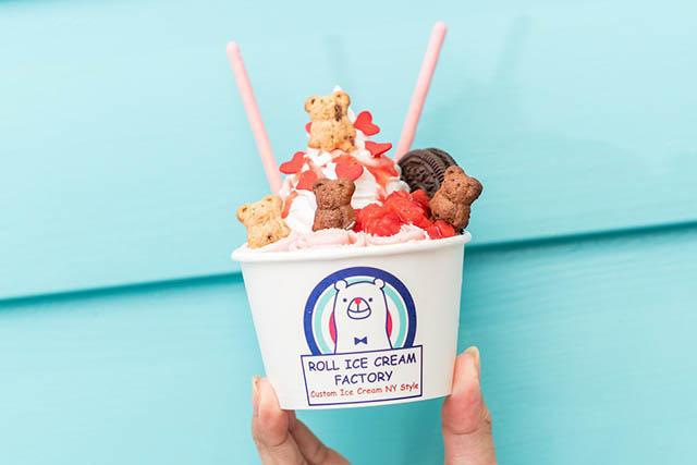 「Roll Ice Cream」787日圓(含稅)~