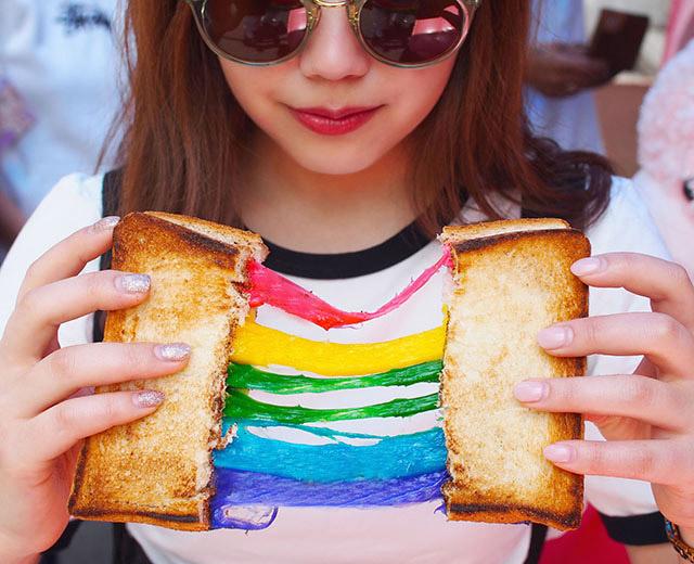 彩虹吐司 890日圓