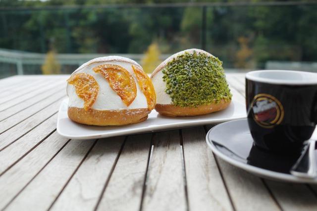 6月底限定菜單「柑橘口味」、「開心果口味」520日圓(含稅)