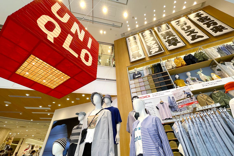 【UNIQLO淺草】6/4正式開幕!淺草風的限定商品、店鋪設計大公開