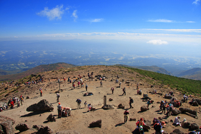 360 degrees panoramic view from the top at an elevation of 1700m