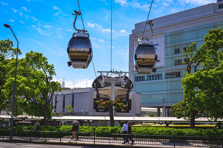 【神奈川】在橫濱來趟空中散步吧!世界第一都市型「空中纜車」登場