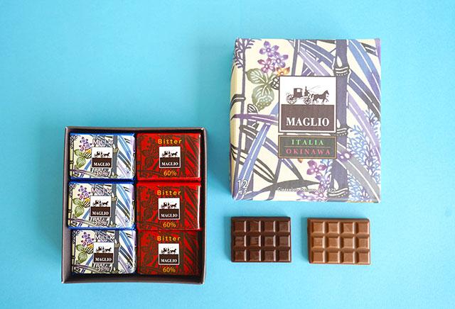 MAGLIOチョコレート 12枚入り 1,296円(税込)