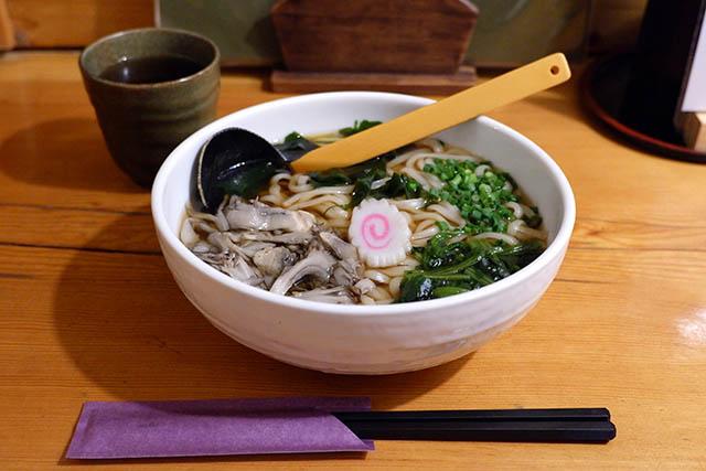 「上州麺処 平野屋」ゆで舞茸うどん 1150円