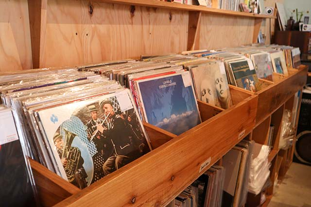 pianola records  店内