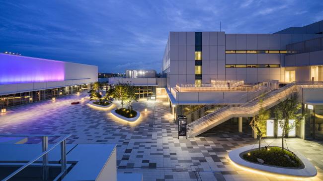 共有施設「イノベーションコリドー」 夜景