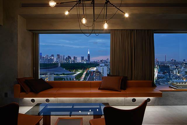 〈17階〉渋谷の街を一望できる「SUITE ROOM」