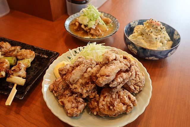 鶏の唐揚げ 500円(税抜)