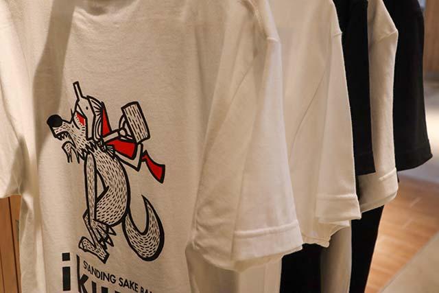 「ikuru」オリジナルTシャツも販売しています