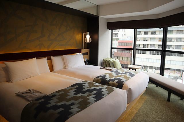 ホテル1899東京 コーナーデラックスツイン