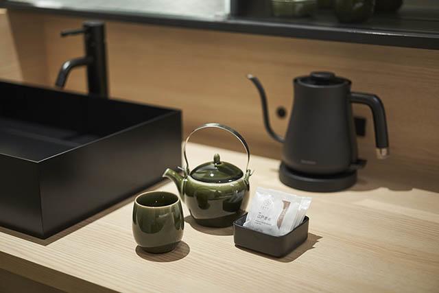 ホテル1899東京 客室のお茶セット