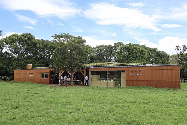 Park Community KIBACOは木場公園の敷地内にある施設です