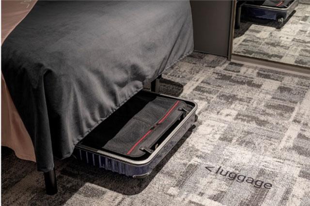 /slash kawasaki ベッド下が収納スペースに