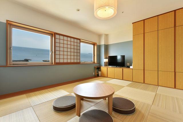 葉山 うみのホテル 「Tatami superior(タタミスーペリア)」