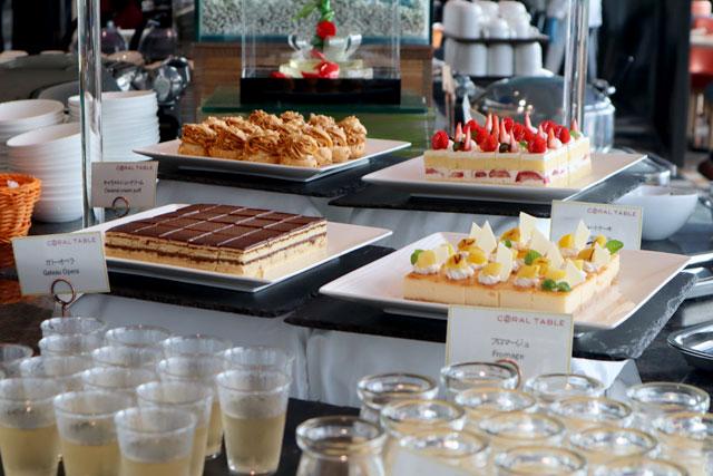 東京ベイ東急ホテル 「CORAL TABLE」ランチブッフェ