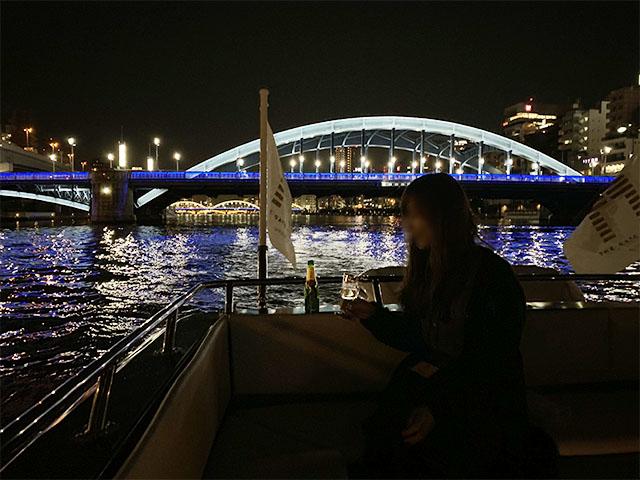 隅田川にかかる橋のライトアップにも注目
