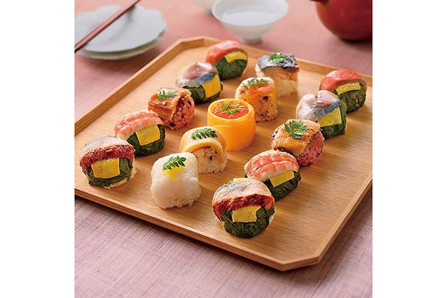 うめもり「てまり寿司 10種15個入り」4,212円(税込)