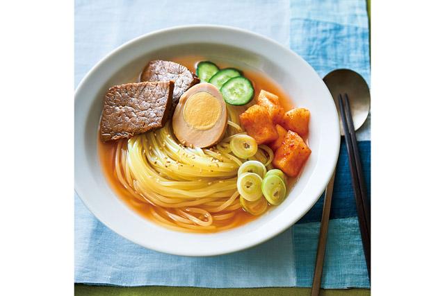 「冷麺4食具材入りセット」2,720円(税込)