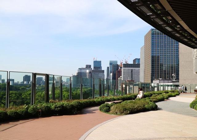 도쿄 미드타운 히비야 옥상