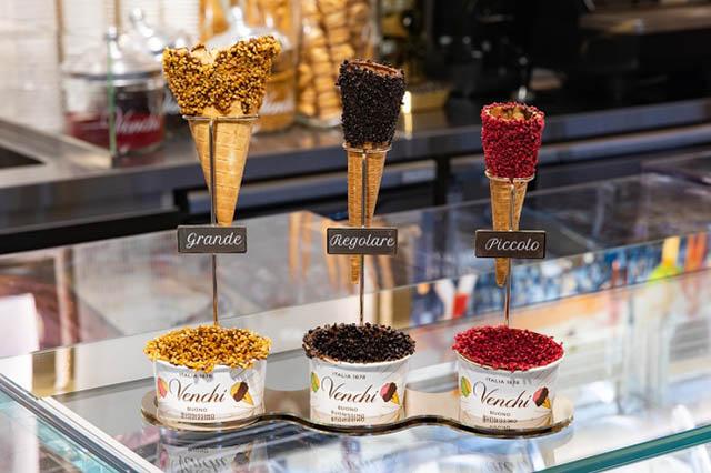 義大利甜點店「Venchi」