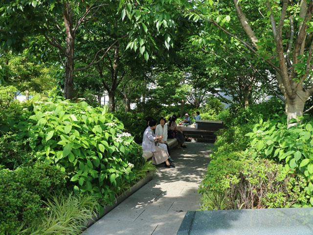 Ginza Six屋頂花園