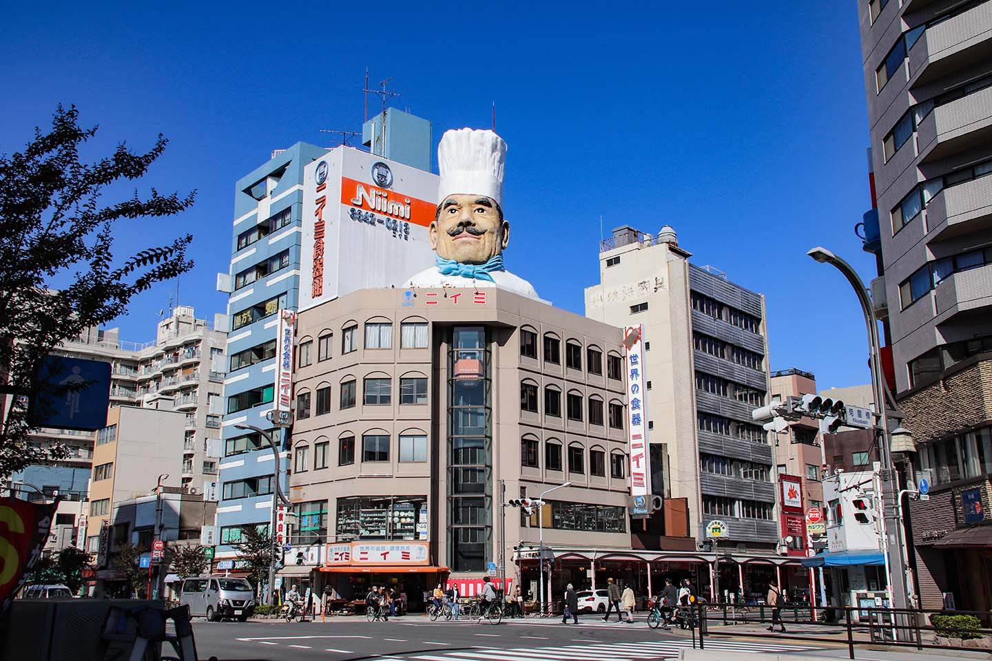 Walk Down the Kappabashi Street