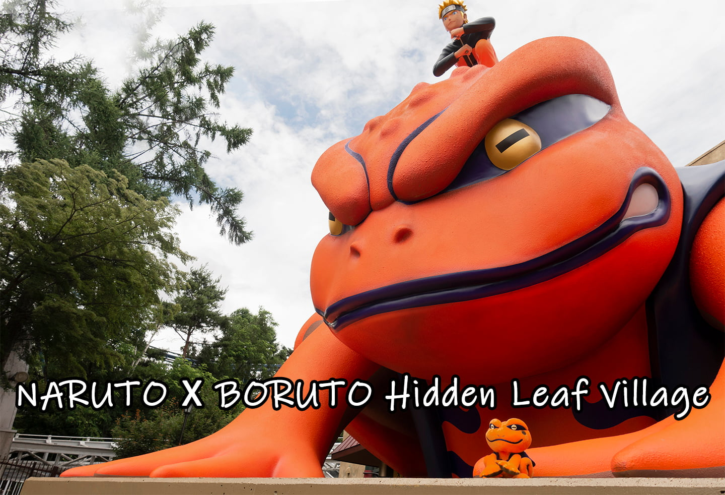 Journey to Hidden Leaf Village in Fuji-Q, a must visit for Naruto fans
