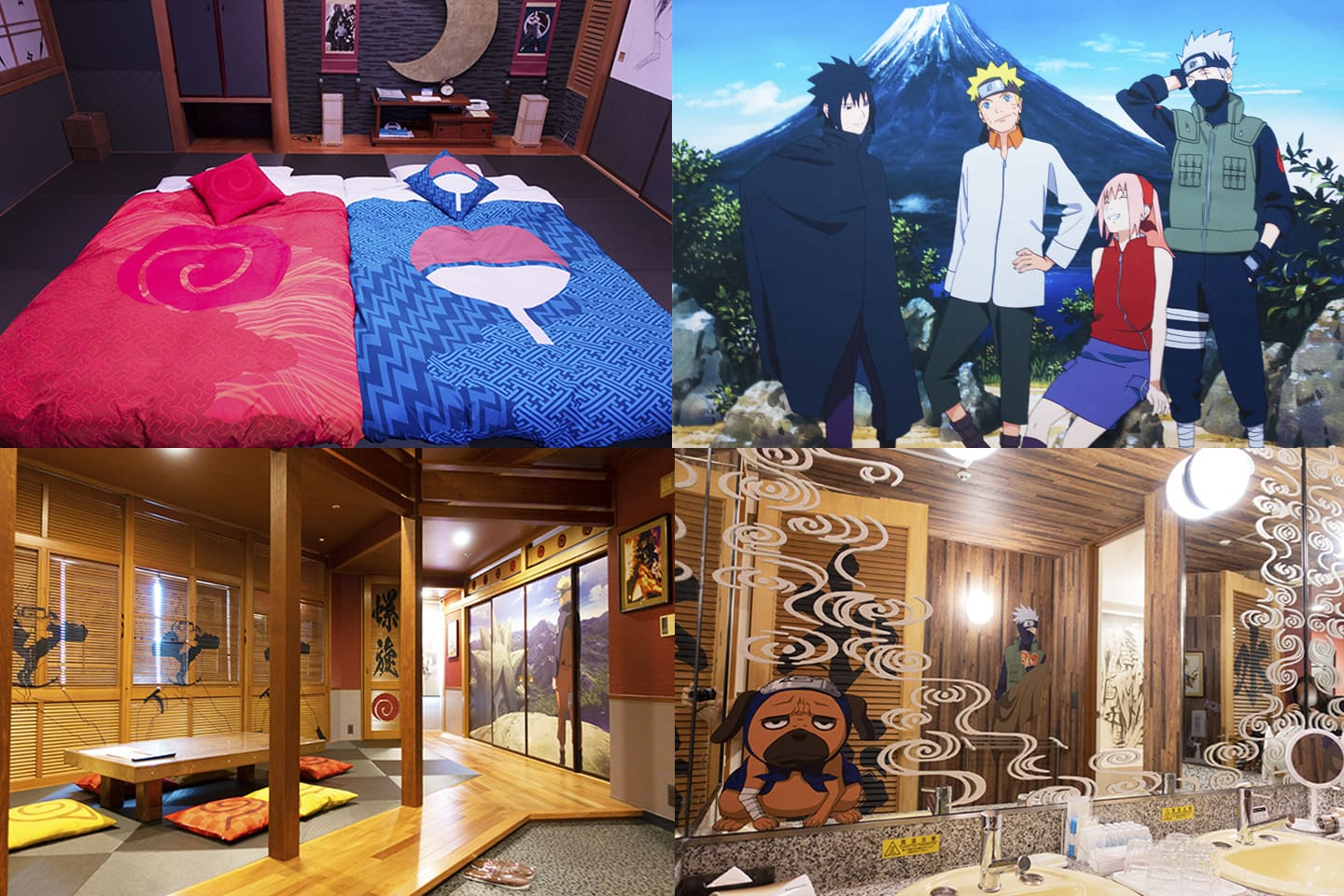 NARUTO Themed Hotel Room at Highland Resort Hotel & Spa