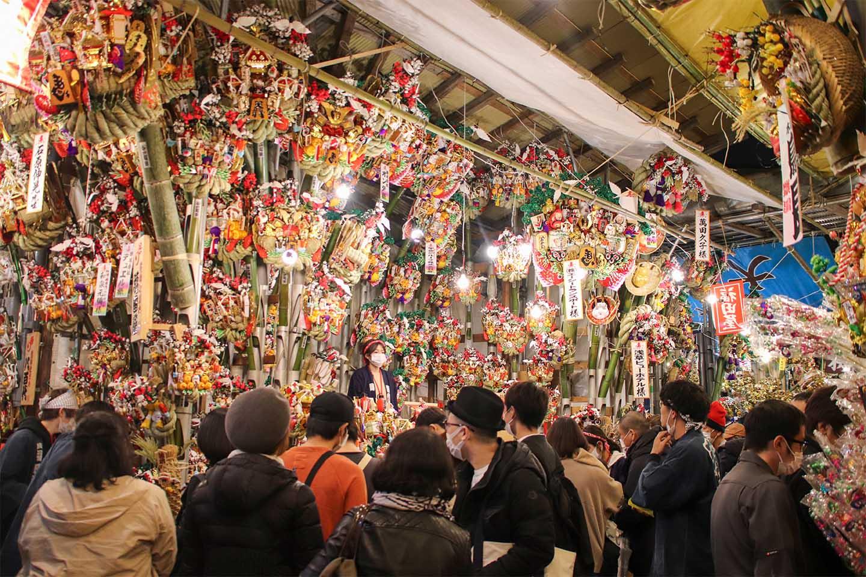 Tori no Ichi (Rooster) Festival at Otori Shrine