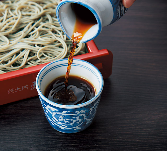 Tsuyu served at Sarashina Nunoya which its taste have been passed down for more than 200 years