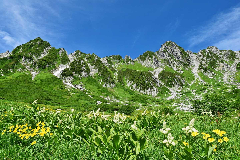 Swiss Alps of Japan Senjojiki Cirque