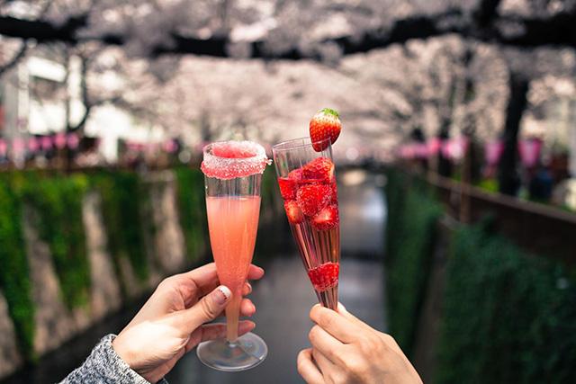 櫻花雞尾酒