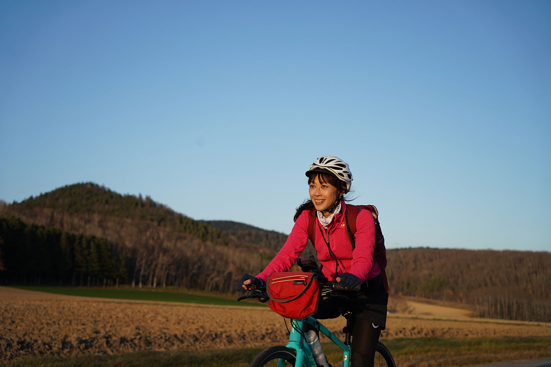 北見でサイクリングを満喫!絶景の黄葉&スイーツライド