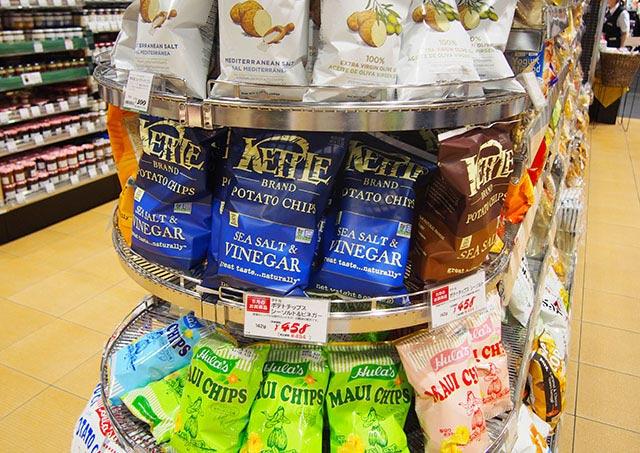 紀伊国屋インターナショナル 外国のお菓子が豊富